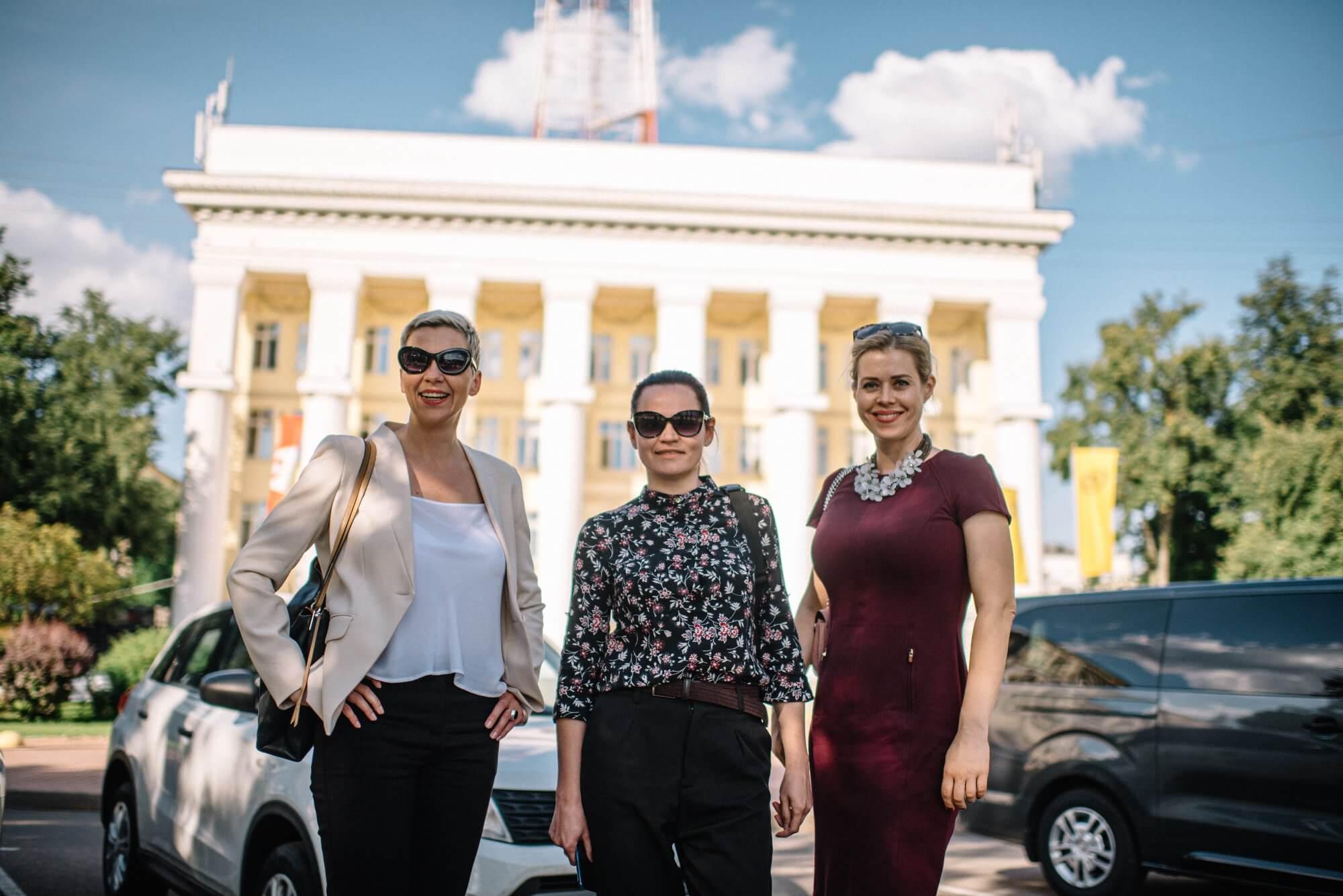 Tikhanovskaya, Kolesnikova and Tsepkalo nominated for the Nobel Peace Prize 2021