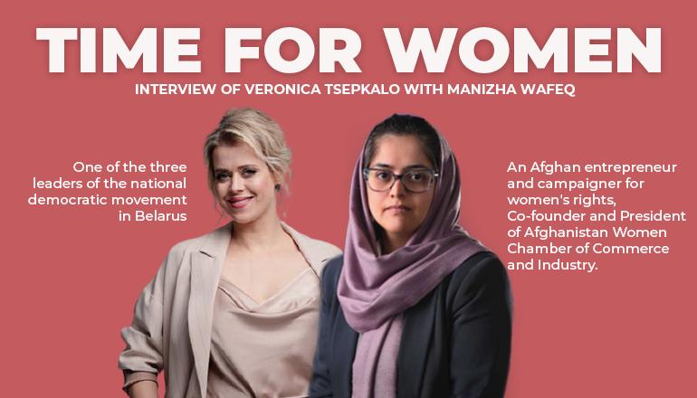 Interview: Veronica Tsepkalo & Manizha Wafeq