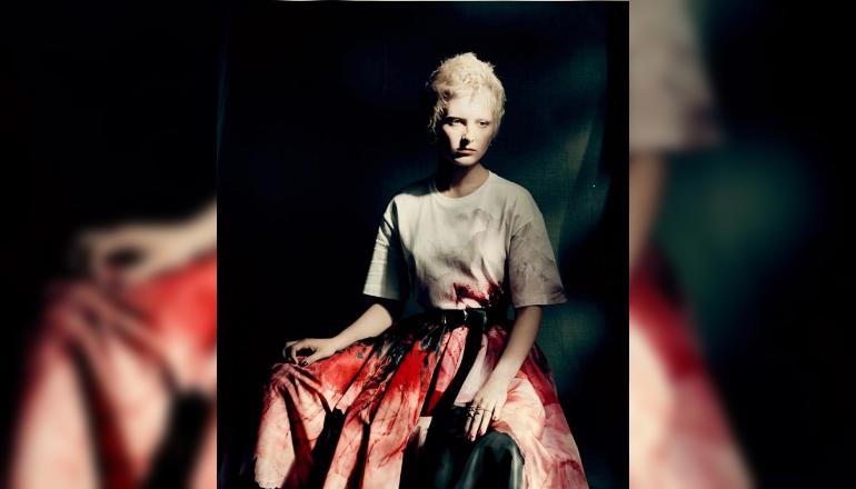 New Alexander McQueen collection created by Sarah Burton