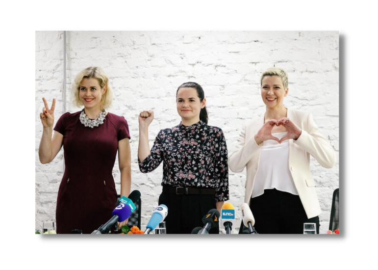 """""""Unexpectedly for us, the women's trio became a symbol of Belarusian freedom movement"""""""